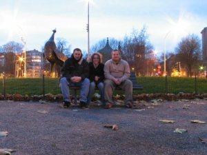 John, me and Gianni in Liege