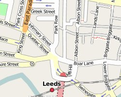 OSM image for Leeds