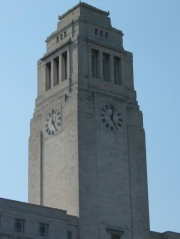 The Parkinson Tower at the University of Leeds
