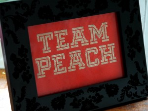 team-peach-cross-stitch